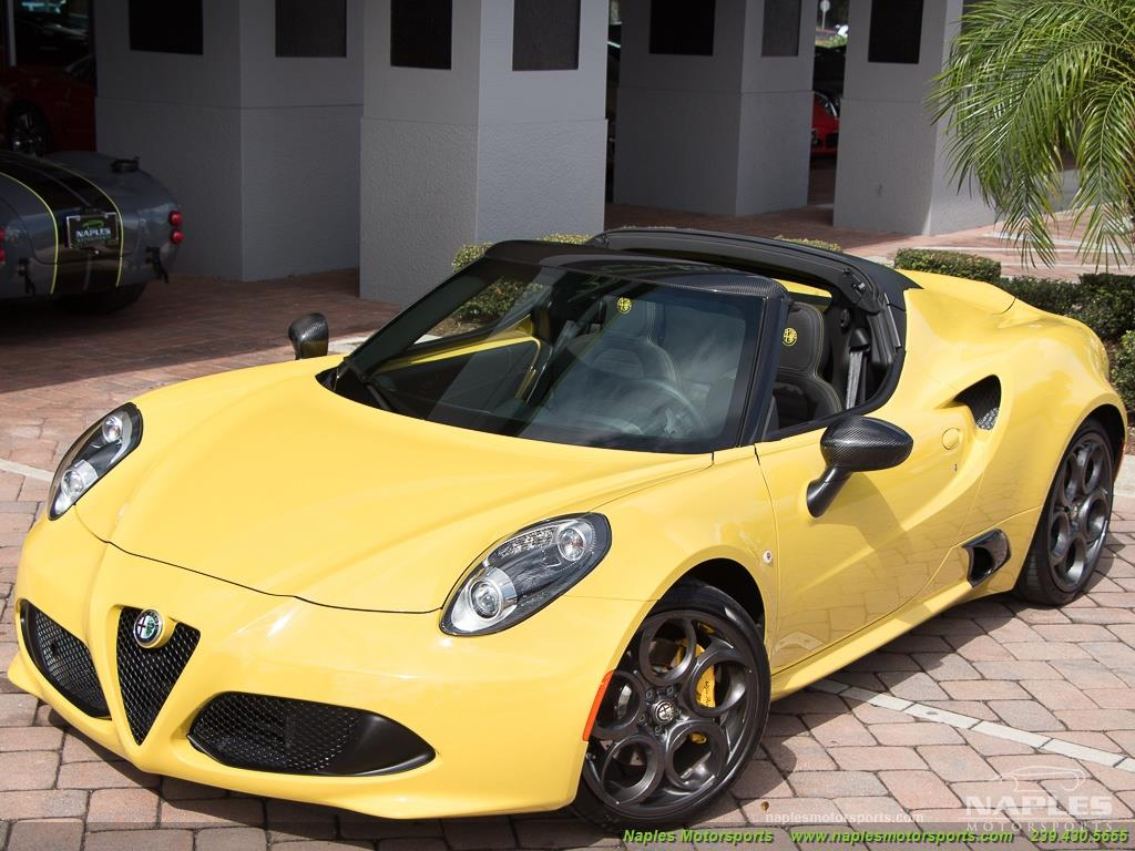 2015 Alfa Romeo Spider 4c - Photo 46 - Naples, FL 34104