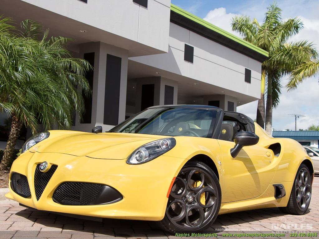 2015 Alfa Romeo Spider 4c - Photo 18 - Naples, FL 34104