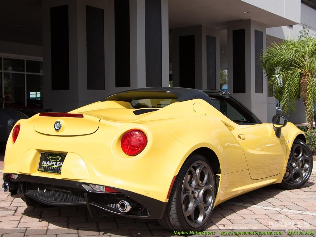2015 Alfa Romeo Spider 4c - Photo 50 - Naples, FL 34104