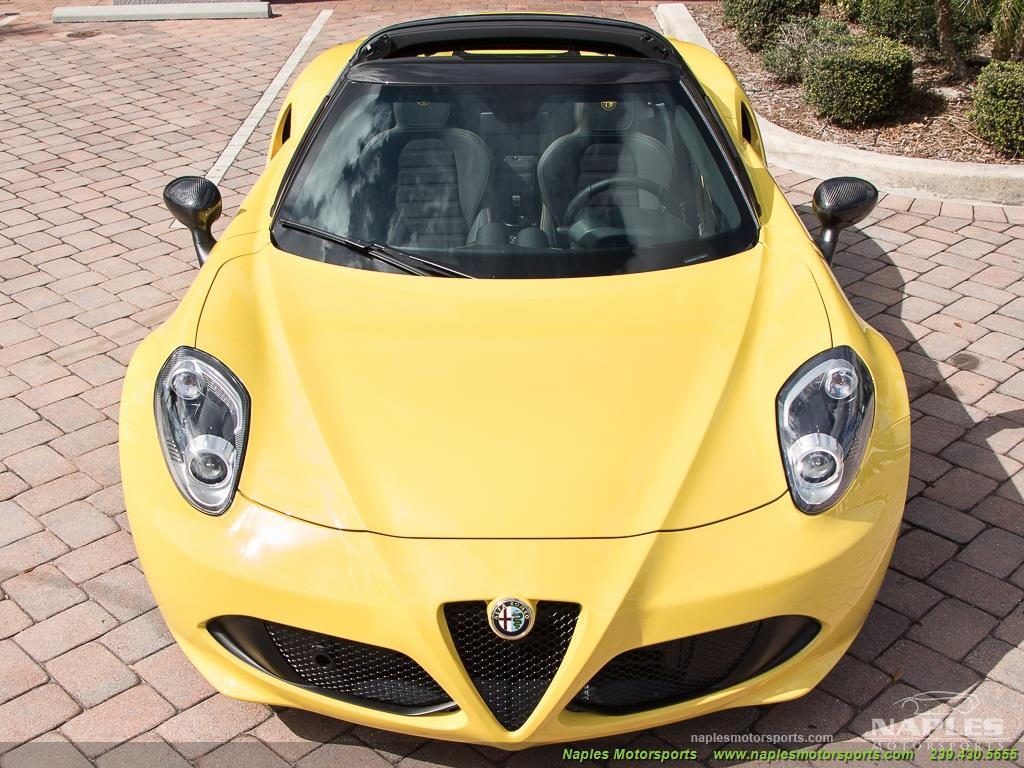 2015 Alfa Romeo Spider 4c - Photo 32 - Naples, FL 34104
