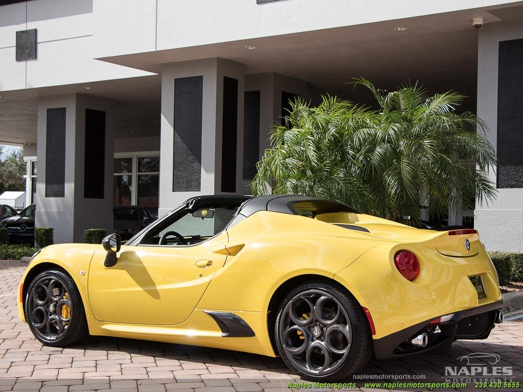 2015 Alfa Romeo Spider 4c - Photo 14 - Naples, FL 34104