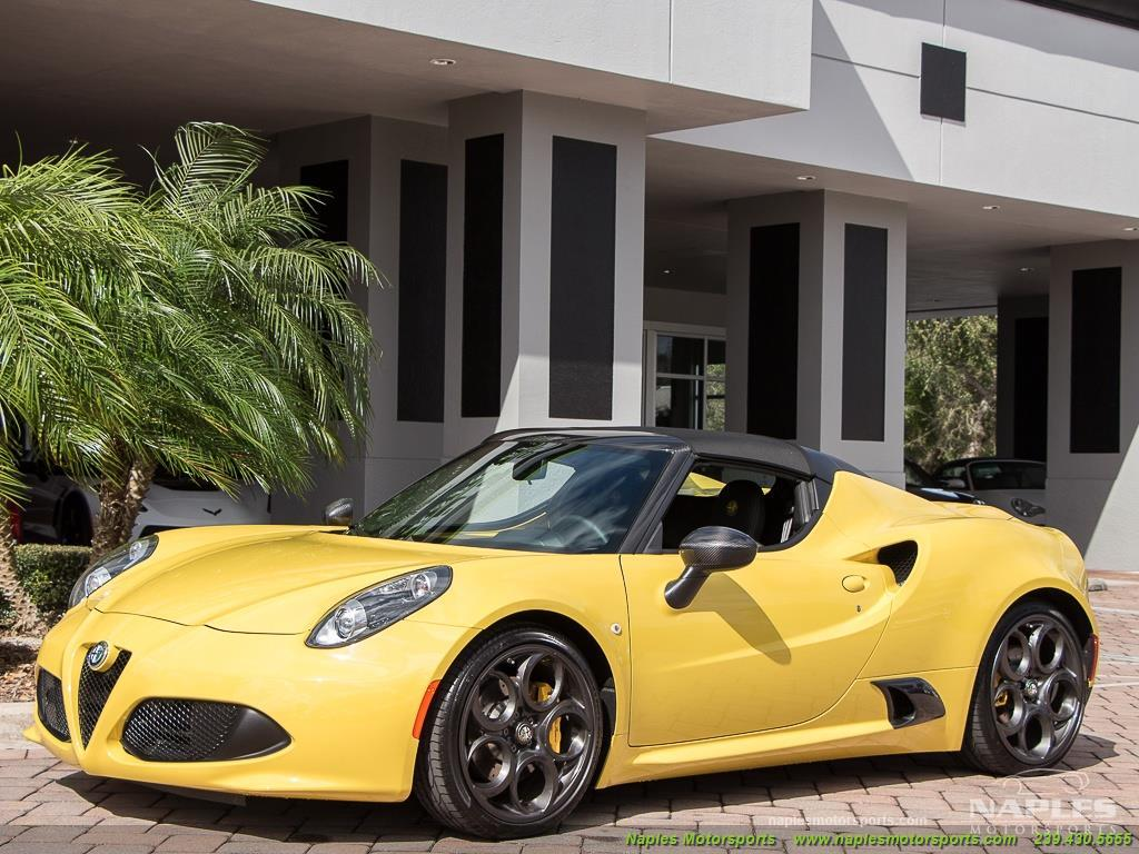 2015 Alfa Romeo Spider 4c - Photo 9 - Naples, FL 34104