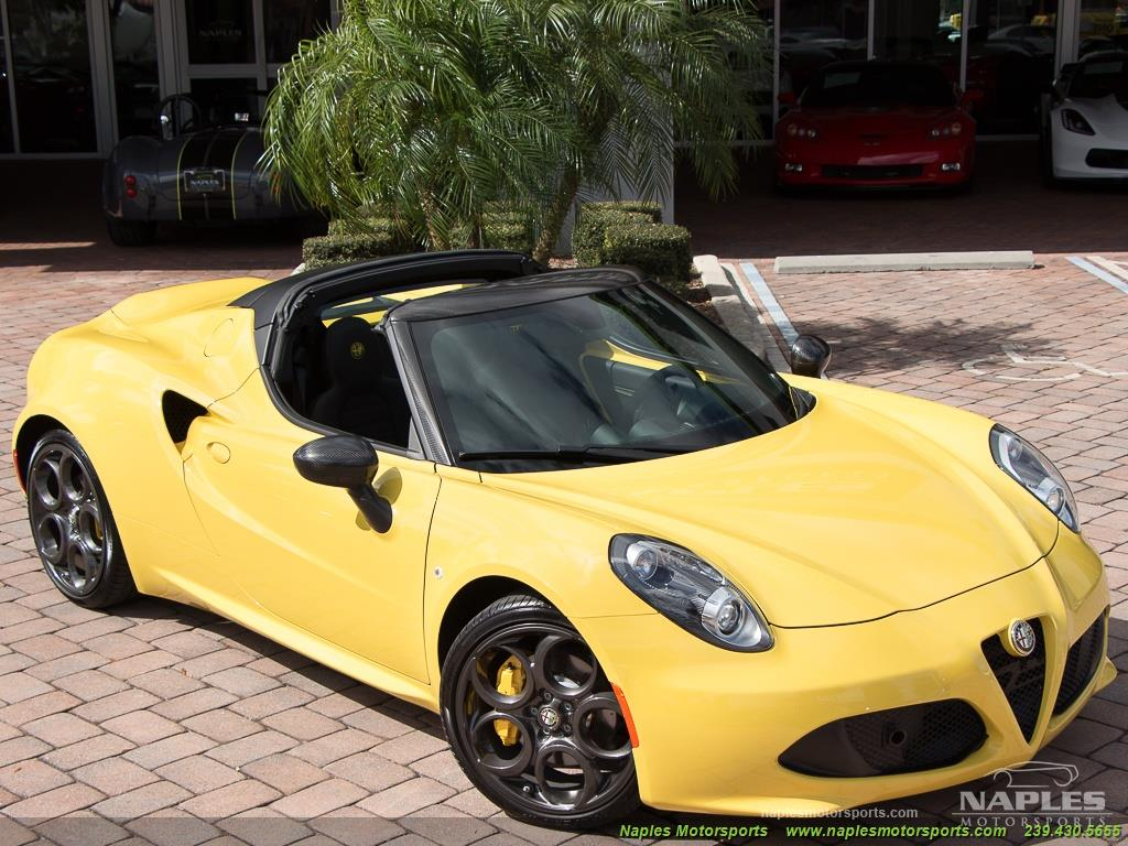 2015 Alfa Romeo Spider 4c - Photo 51 - Naples, FL 34104