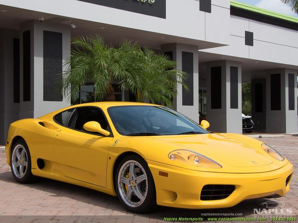 2003 Ferrari 360 Modena - Photo 32 - Naples, FL 34104