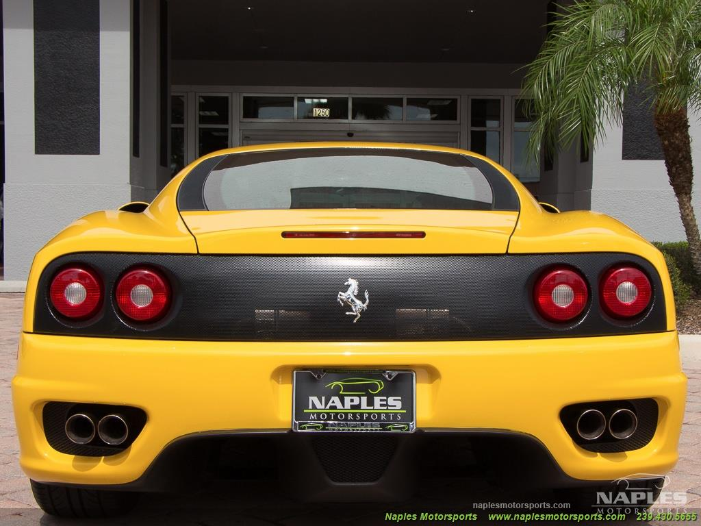 2003 Ferrari 360 Modena - Photo 40 - Naples, FL 34104