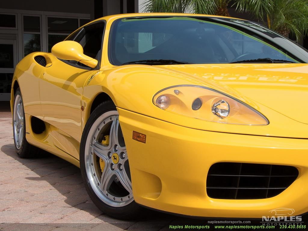 2003 Ferrari 360 Modena - Photo 36 - Naples, FL 34104