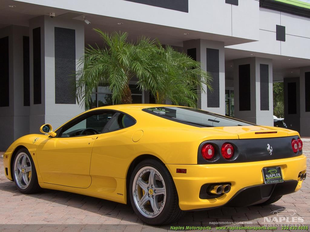 2003 Ferrari 360 Modena - Photo 41 - Naples, FL 34104