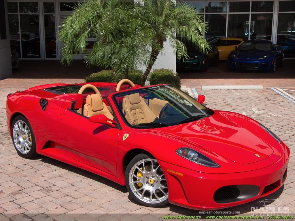 2007 Ferrari F430 Spider 6 Speed - Photo 55 - Naples, FL 34104