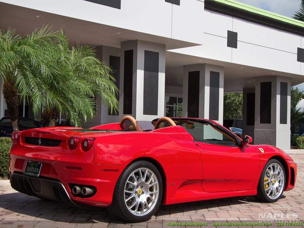 2007 Ferrari F430 Spider 6 Speed - Photo 37 - Naples, FL 34104