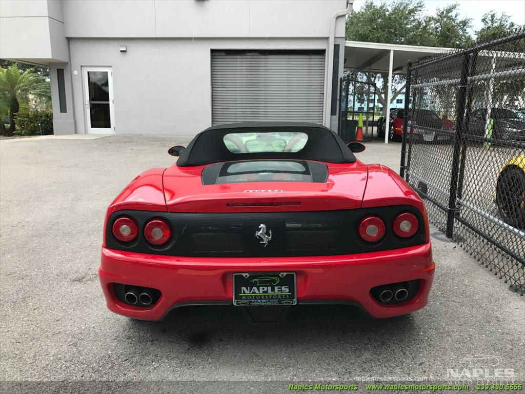 2004 Ferrari 360 Spider - Photo 8 - Naples, FL 34104