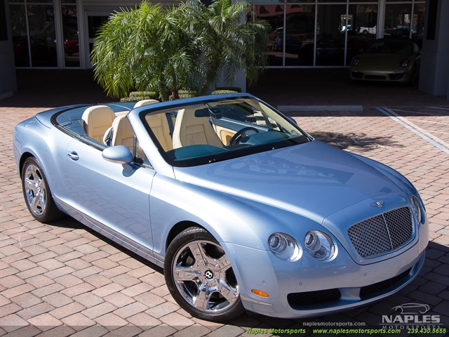 2008 Bentley Continental GT GTC Convertible - Photo 3 - Naples, FL 34104