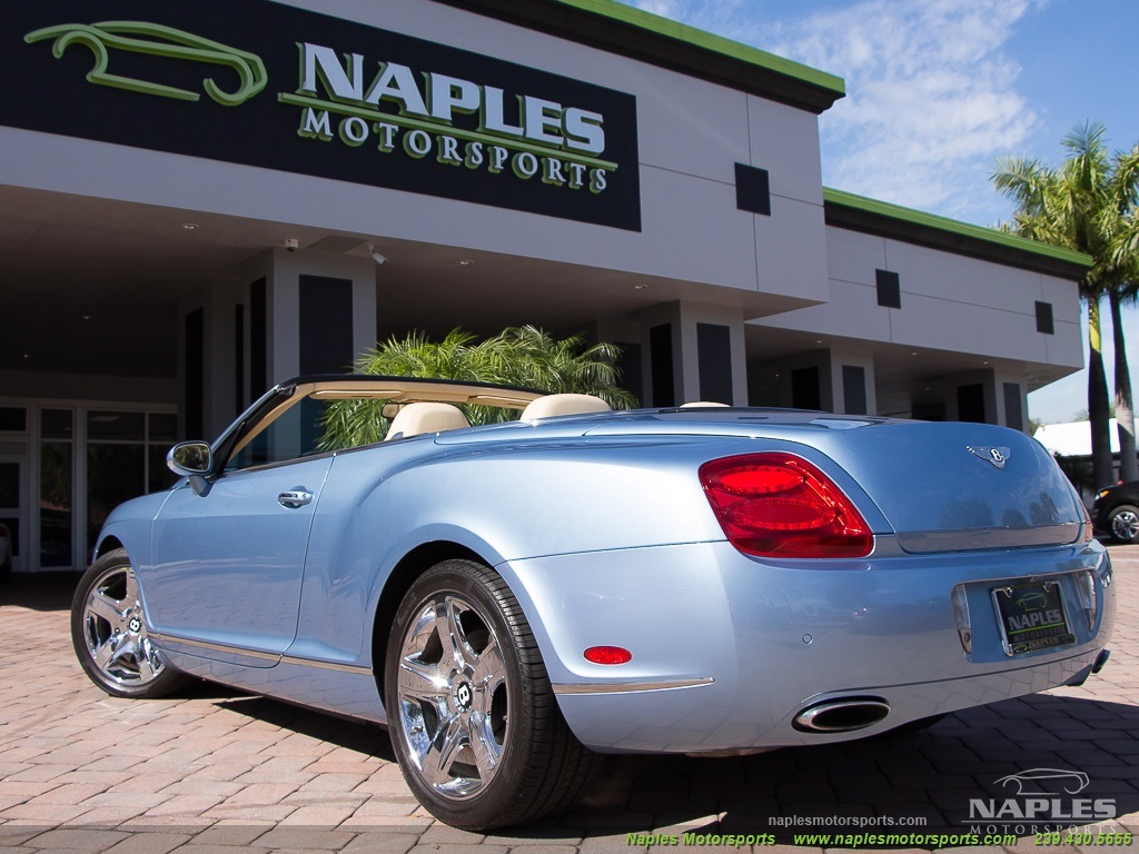 2008 Bentley Continental GT GTC Convertible - Photo 50 - Naples, FL 34104