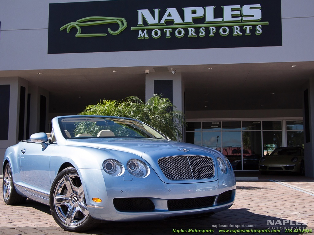 2008 Bentley Continental GT GTC Convertible - Photo 55 - Naples, FL 34104