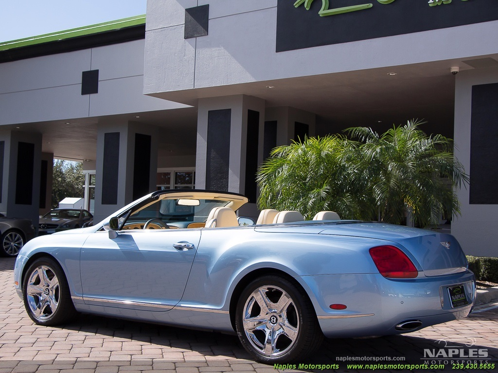 2008 Bentley Continental GT GTC Convertible - Photo 24 - Naples, FL 34104
