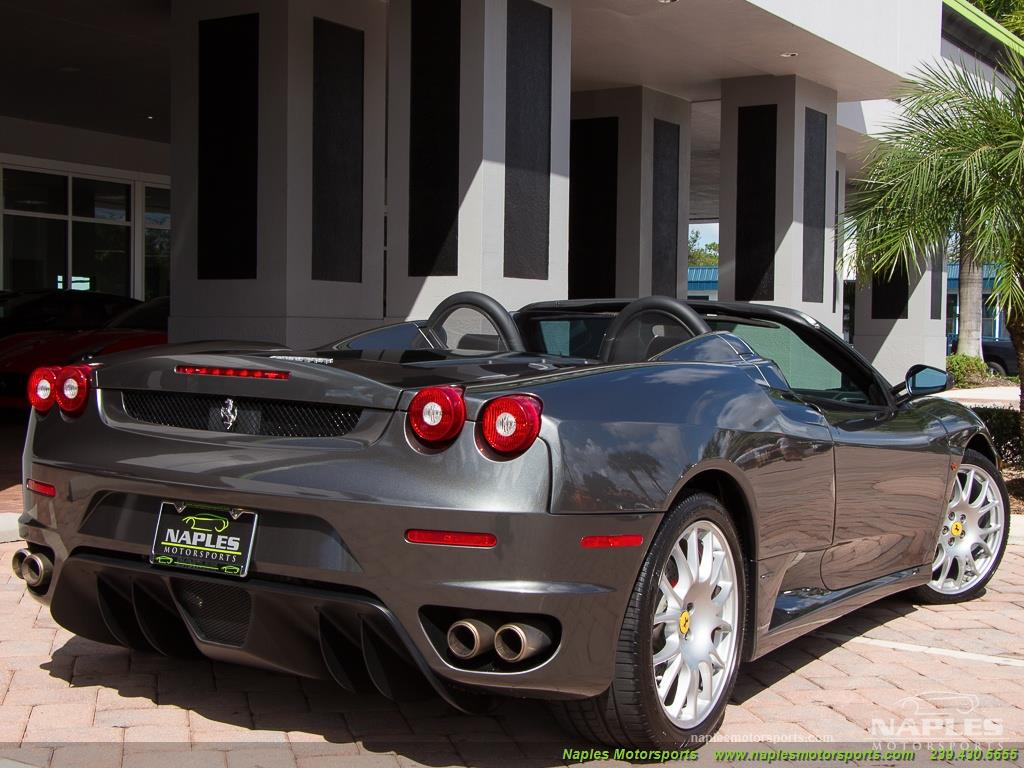 2006 Ferrari F430 Spider - Photo 37 - Naples, FL 34104