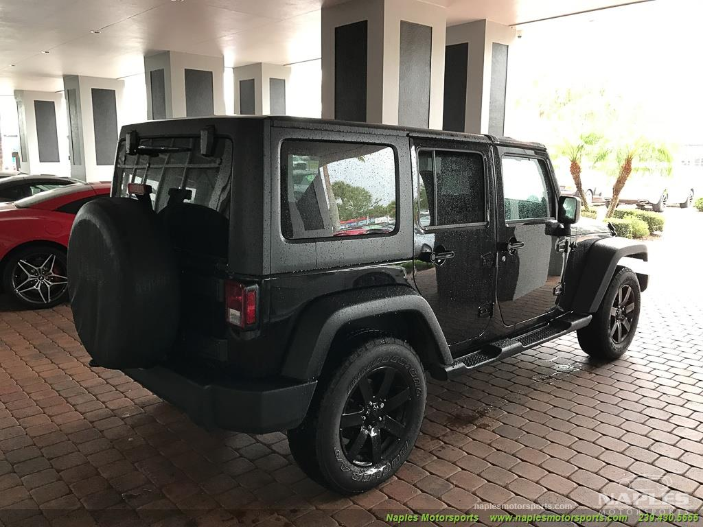 2014 Jeep Wrangler Unlimited Sport - Photo 8 - Naples, FL 34104