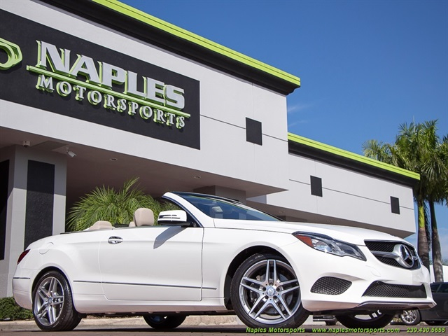 2014 mercedes benz e350 convertible for Motor vehicle naples fl