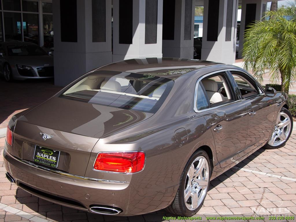 2015 Bentley Continental Flying Spur W12 Mulliner - Photo 49 - Naples, FL 34104