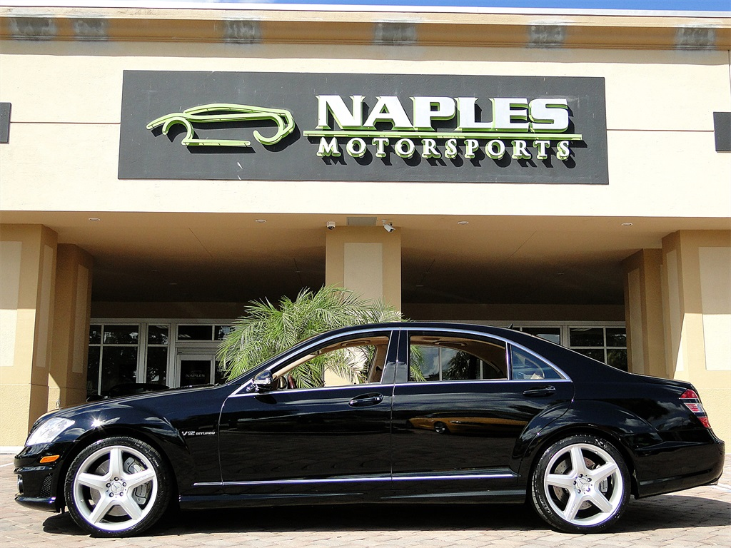 2007 mercedes benz s65 amg for Motor vehicle naples fl