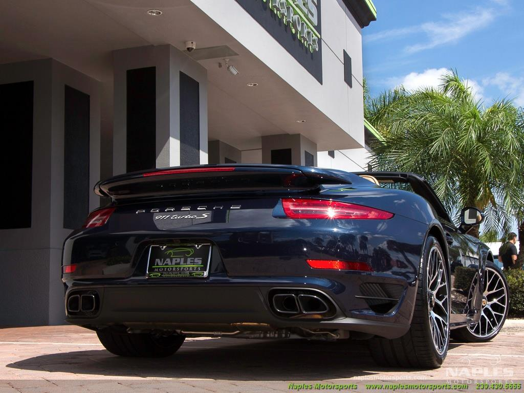 2015 Porsche 911 Turbo S - Photo 52 - Naples, FL 34104