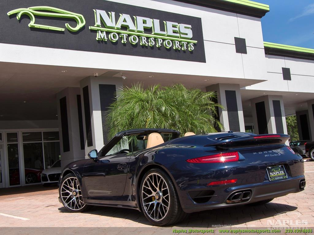 2015 Porsche 911 Turbo S - Photo 48 - Naples, FL 34104