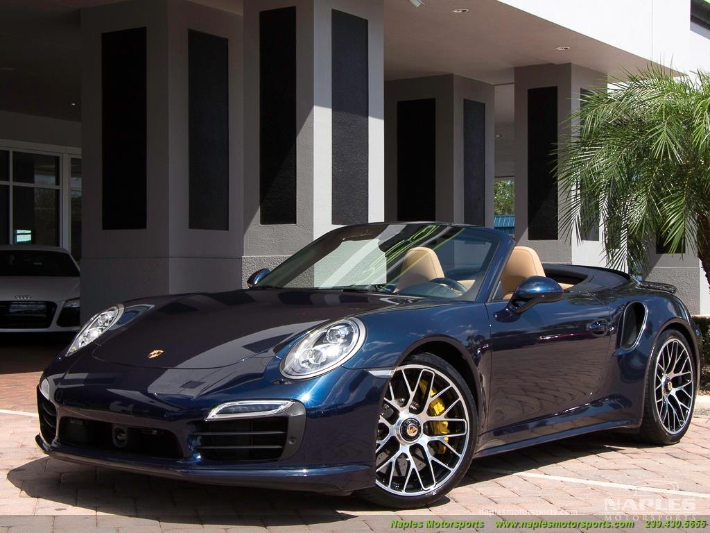 2015 Porsche 911 Turbo S - Photo 50 - Naples, FL 34104