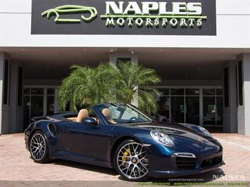 2015 Porsche 911 Turbo S Convertible