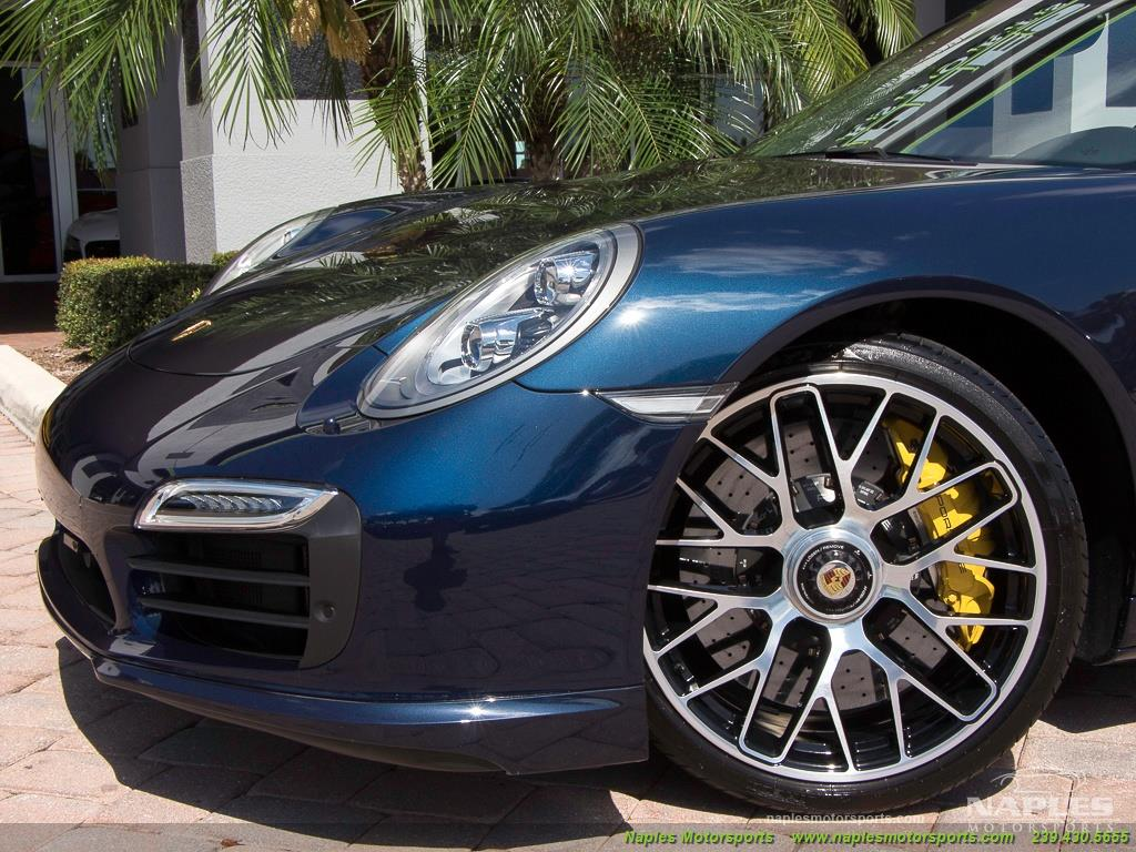 2015 Porsche 911 Turbo S - Photo 25 - Naples, FL 34104