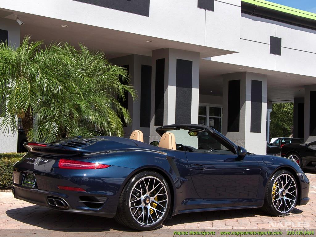 2015 Porsche 911 Turbo S - Photo 32 - Naples, FL 34104