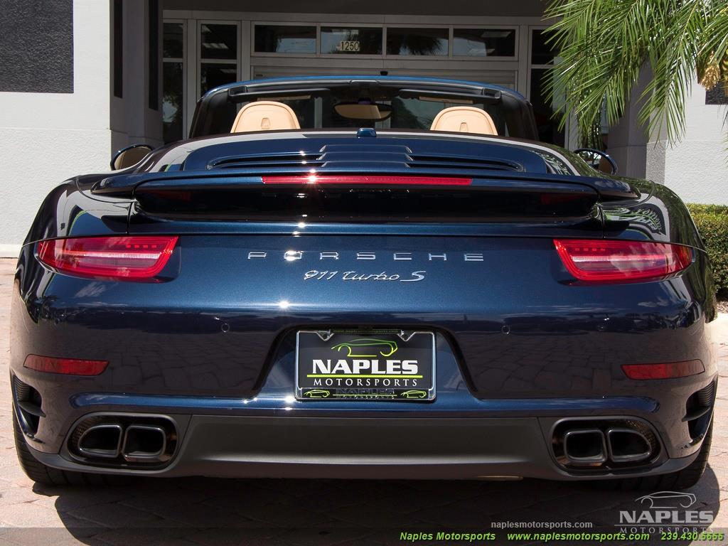 2015 Porsche 911 Turbo S - Photo 45 - Naples, FL 34104