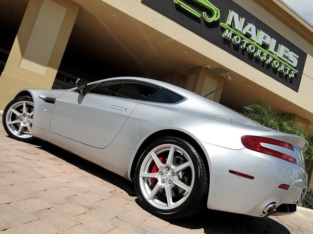 2007 Aston Martin Vantage V8 Coupe - Photo 13 - Naples, FL 34104