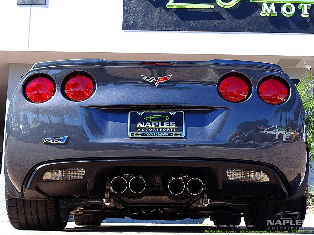 2009 Chevrolet Corvette ZR1 - Photo 40 - Naples, FL 34104