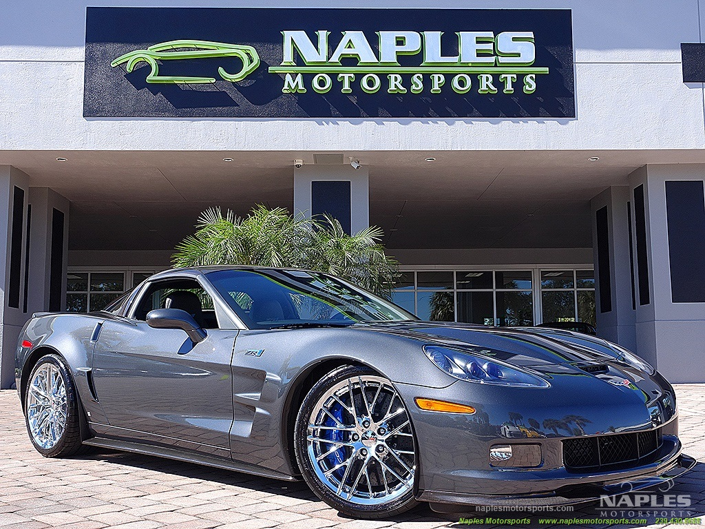 2009 Chevrolet Corvette ZR1 - Photo 5 - Naples, FL 34104