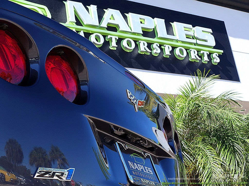 2009 Chevrolet Corvette ZR1 - Photo 48 - Naples, FL 34104