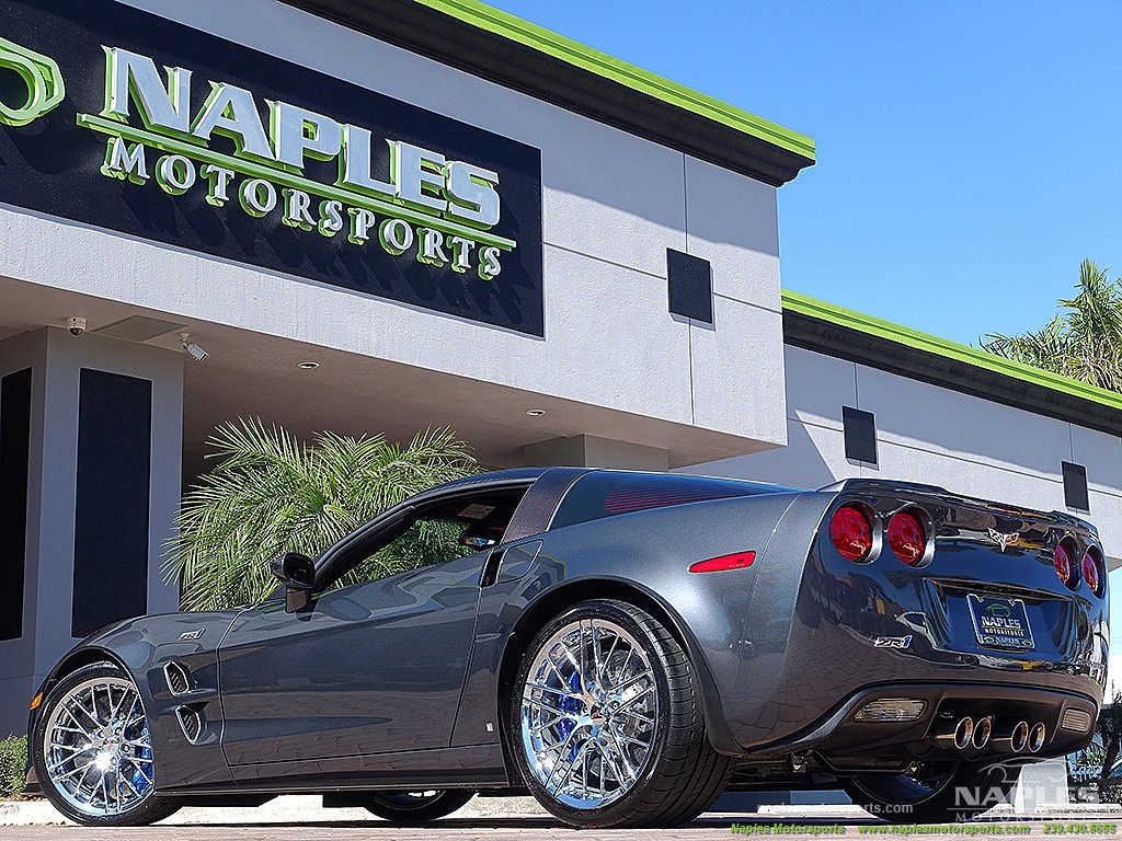 2009 Chevrolet Corvette ZR1 - Photo 45 - Naples, FL 34104