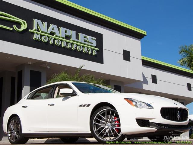 2014 maserati quattroporte s q4 for Motor vehicle naples fl