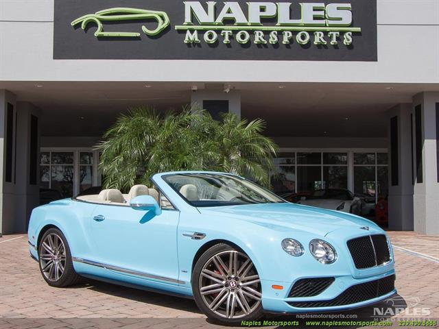 2016 Bentley Continental GT GTC V8 S - Photo 1 - Naples, FL 34104