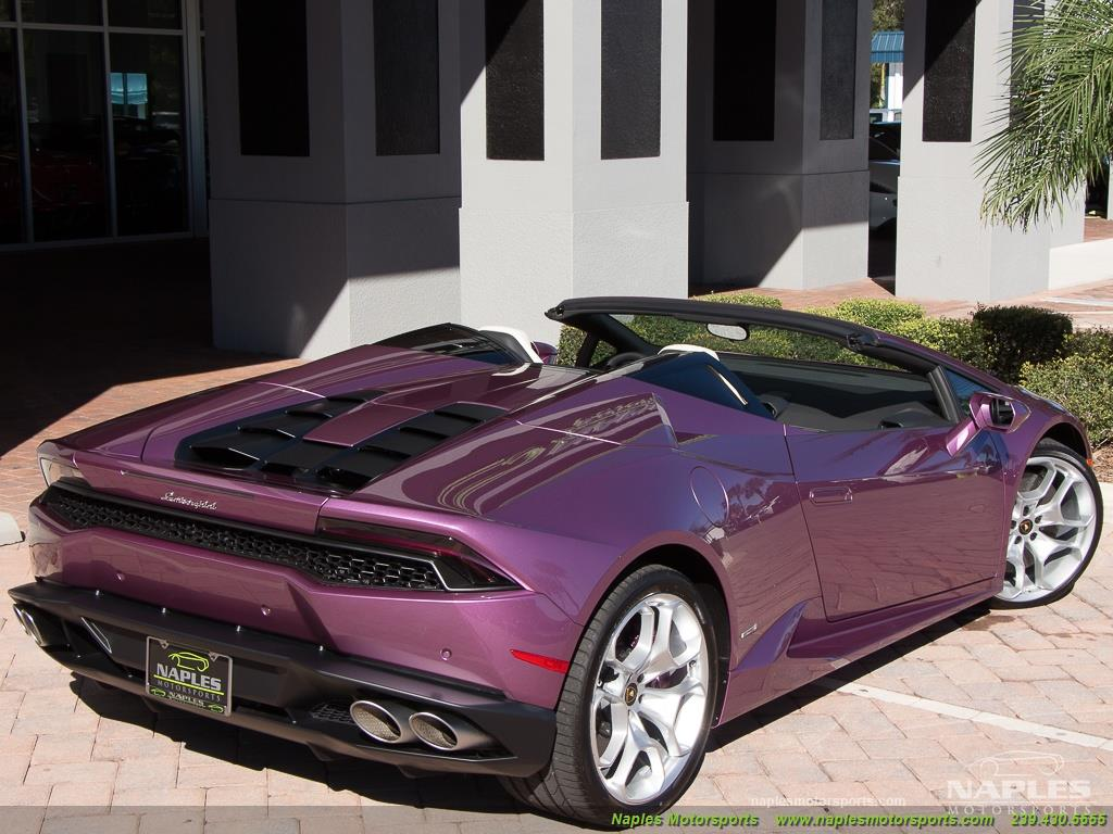 2017 Lamborghini Huracan LP 610-4 Spyder - Photo 48 - Naples, FL 34104