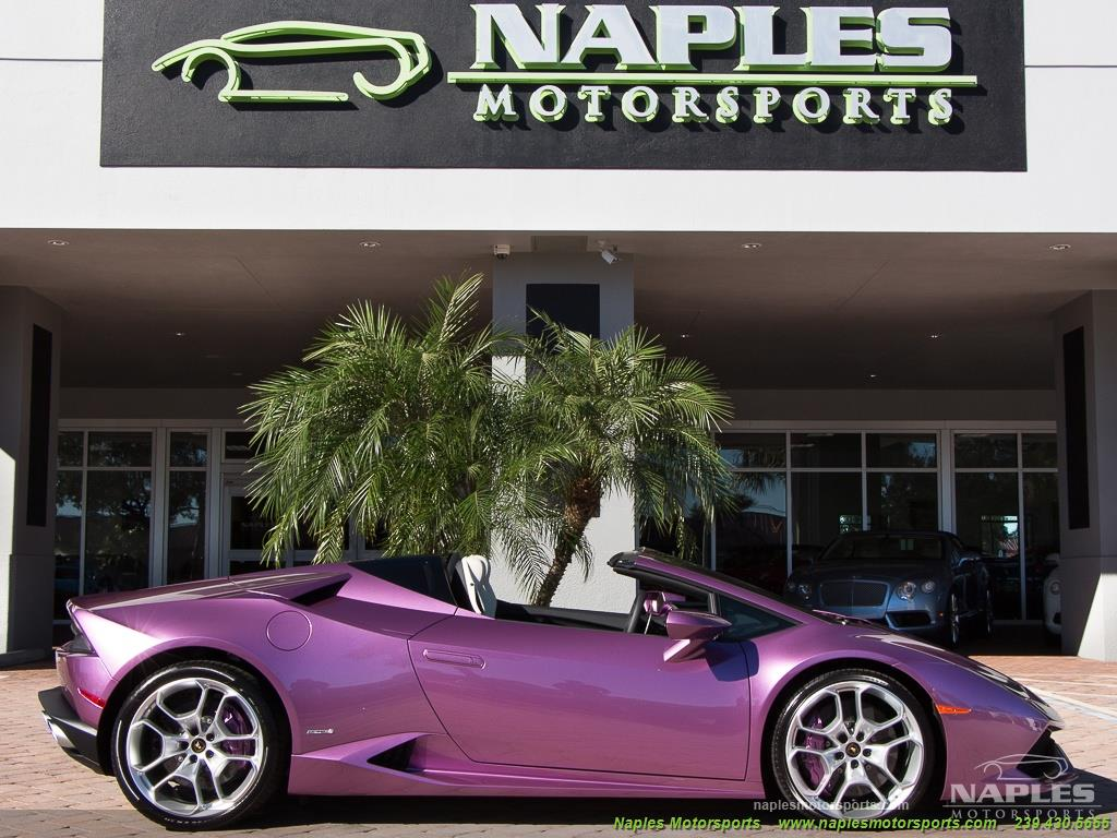 2017 Lamborghini Huracan LP 610-4 Spyder - Photo 27 - Naples, FL 34104