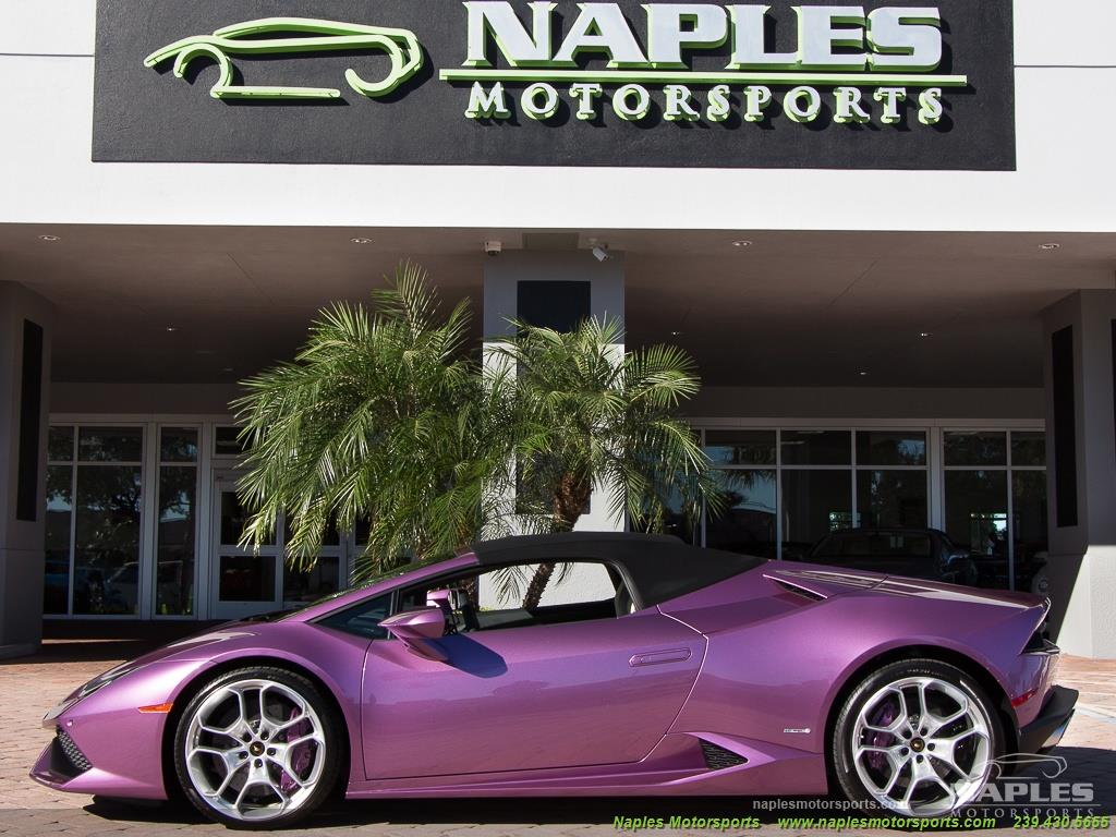 2017 Lamborghini Huracan LP 610-4 Spyder - Photo 10 - Naples, FL 34104