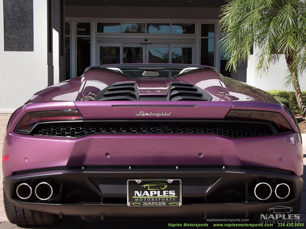2017 Lamborghini Huracan LP 610-4 Spyder - Photo 43 - Naples, FL 34104