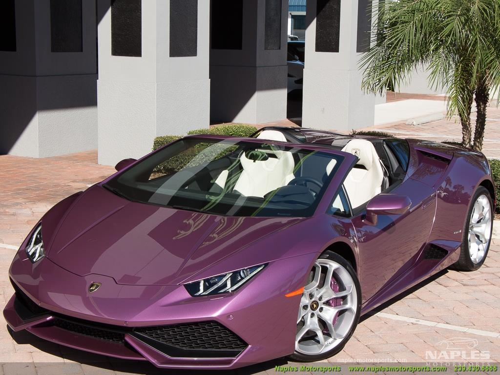 2017 Lamborghini Huracan LP 610-4 Spyder - Photo 46 - Naples, FL 34104
