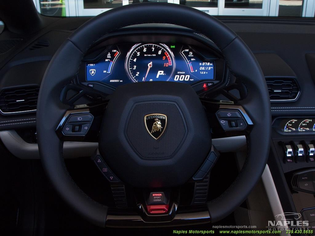 2017 Lamborghini Huracan LP 610-4 Spyder - Photo 8 - Naples, FL 34104