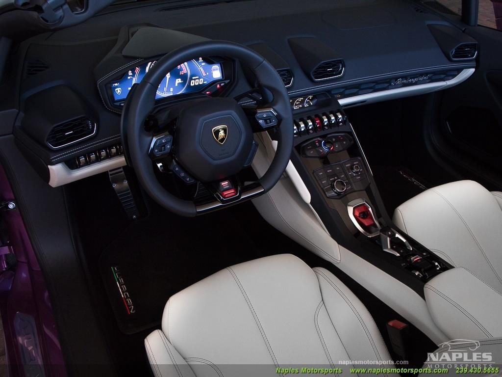 2017 Lamborghini Huracan LP 610-4 Spyder - Photo 12 - Naples, FL 34104