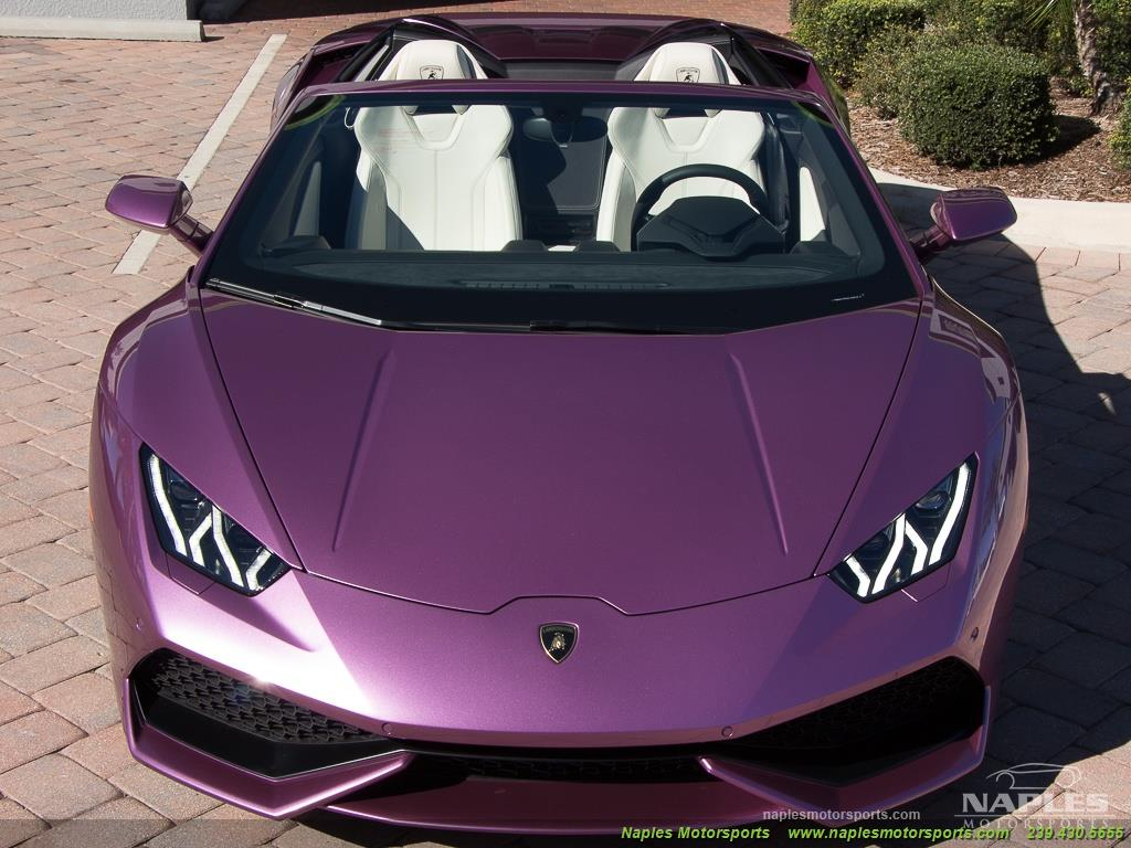 2017 Lamborghini Huracan LP 610-4 Spyder - Photo 34 - Naples, FL 34104