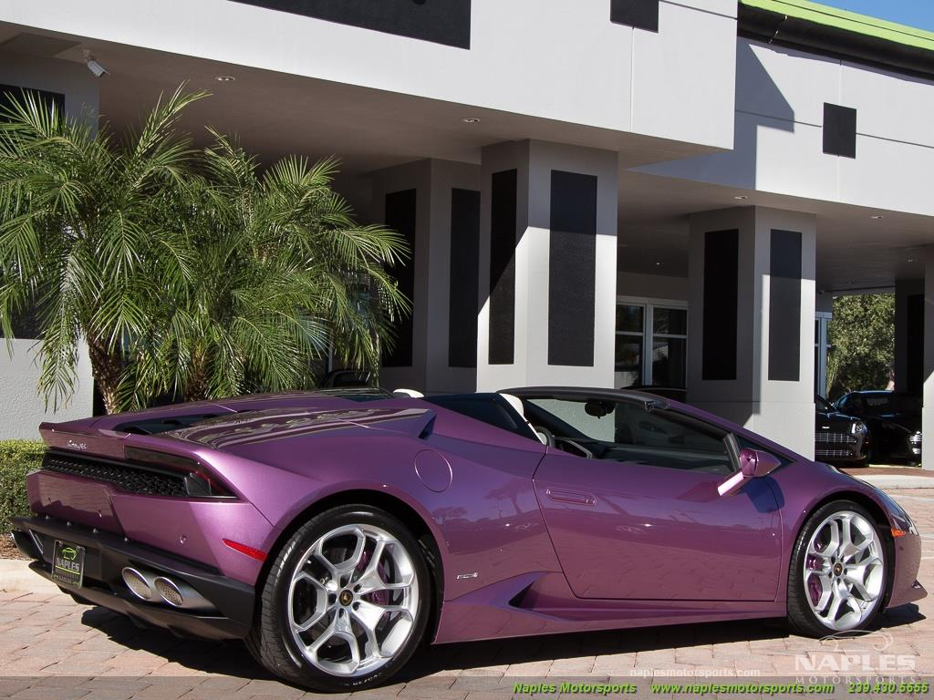 2017 Lamborghini Huracan LP 610-4 Spyder - Photo 54 - Naples, FL 34104