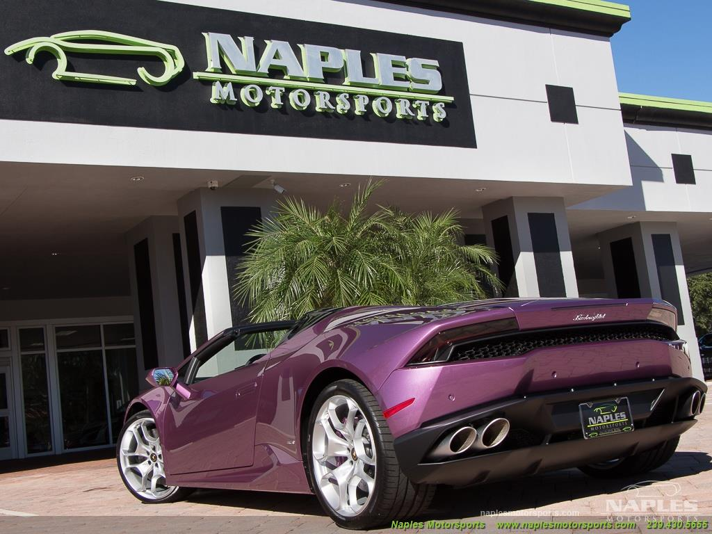 2017 Lamborghini Huracan LP 610-4 Spyder - Photo 45 - Naples, FL 34104