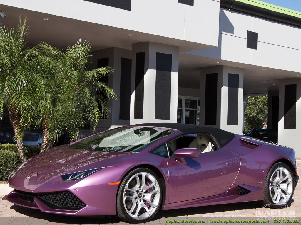 2017 Lamborghini Huracan LP 610-4 Spyder - Photo 18 - Naples, FL 34104