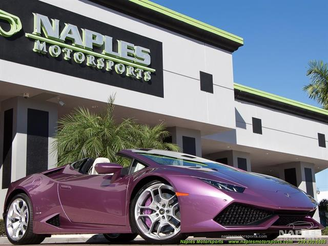 2017 Lamborghini Huracan LP 610-4 Spyder - Photo 3 - Naples, FL 34104