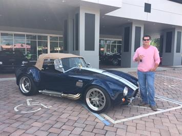 1965 Replica/Kit BackDraft Racing Shelby Replica Coupe